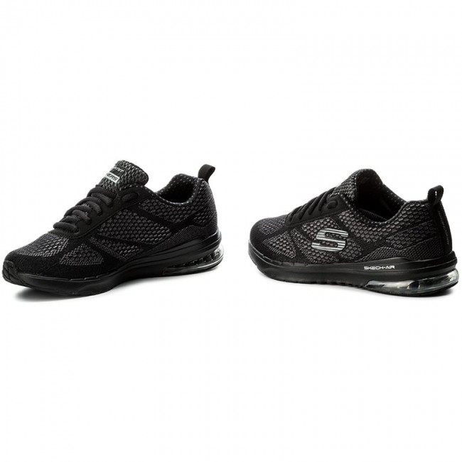 skechers air black