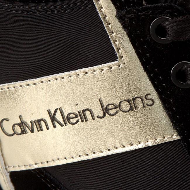 timeless design 11aab e0db2 Sneakers CALVIN KLEIN JEANS - Beth R0648 Black/Gold