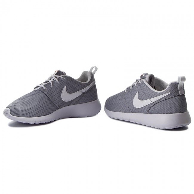 Details about YOUTH NIKE ROSHE ONE (GS) 599729 102 WHITEWHITE WOLF GREY