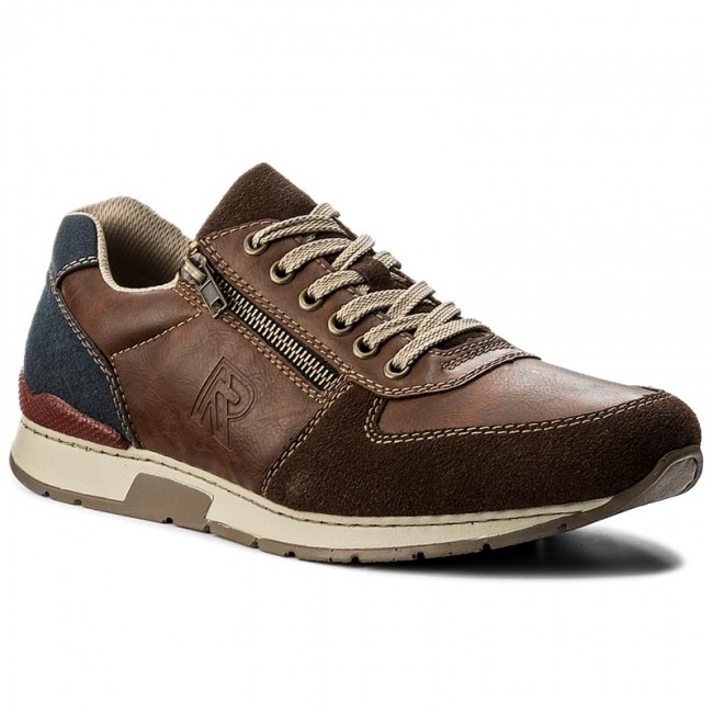 Sneakers RIEKER 19401 25 Brown Combination