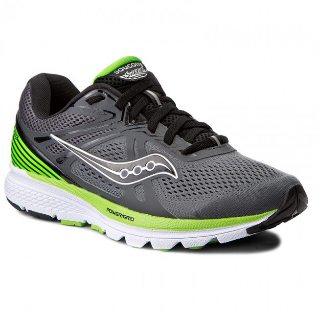 Saucony Black Leather Shoes Mm Offset