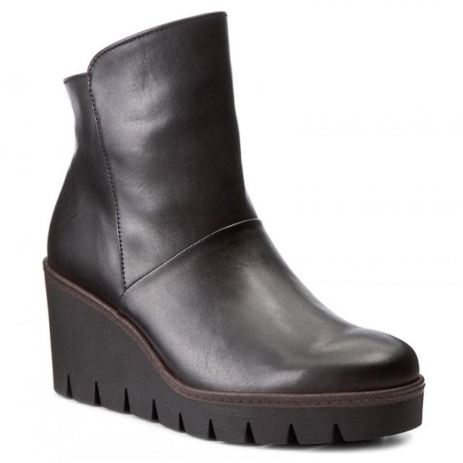 Boots GABOR - 73.784.27 Schwarz (Cognac)