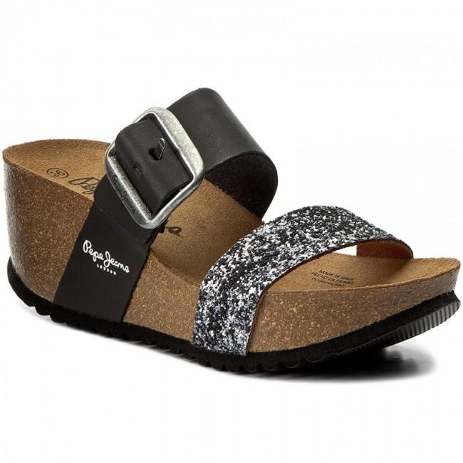 Pepe Blk Slides 997 Tyron Pls90291 Steel Factory Jeans WIH2EYeD9
