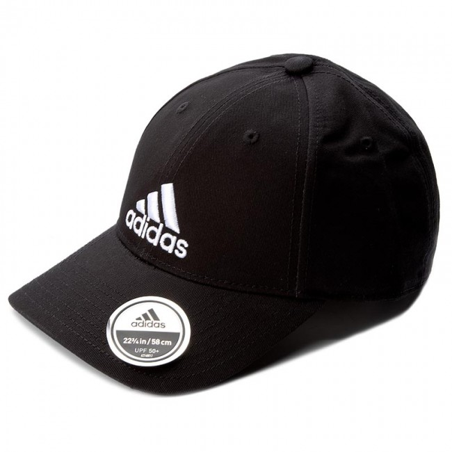 new high quality the latest great prices Men's Cap adidas - 6P Cap Cotton S98151 Black/Black/White