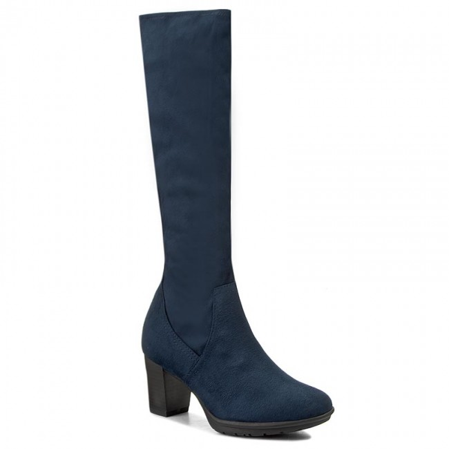 Knee High Boots MARCO TOZZI - 2-25513-29 Navy 805