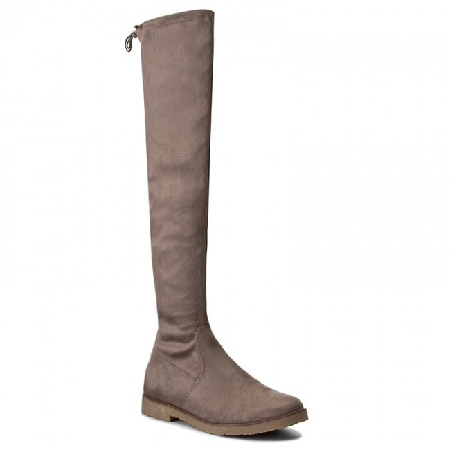 Over-Knee Boots MARCO TOZZI - 2-25645-29 Taupe 341