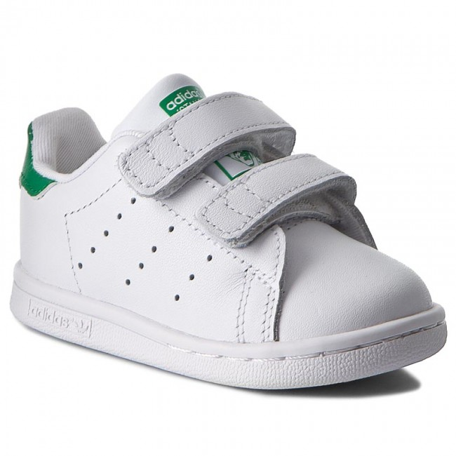 sale retailer f5f65 7271c Shoes adidas - Stan Smith Cf I BZ0520 Ftwwht/Ftwwht/Green