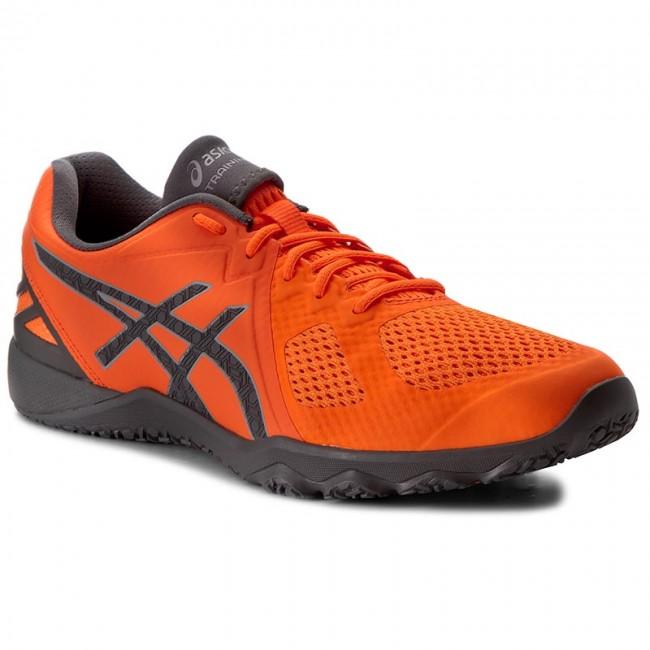 Mendigar maquinilla de afeitar uno  Shoes ASICS - Conviction X S703N Shocking Orange/Carbon/Midgrey 3097 -  Fitness - Sports shoes - Men's shoes | efootwear.eu