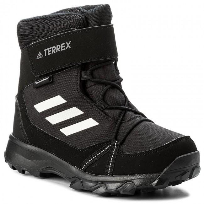 Snow Boots adidas Terrex Snow Cf Cp Cw K S80885 CblackCwhiteGrefou