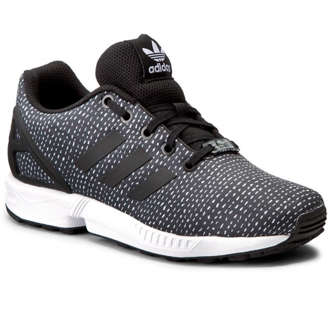 classic fit 31a43 e531f Shoes adidas - Zx Flux J BY9828 Cblack/Cblack/Ftwwht