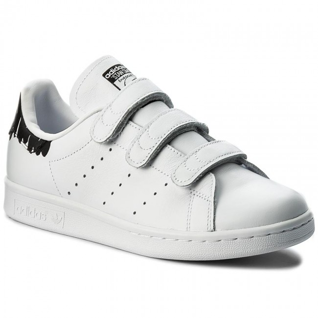 shoes adidas stan smith cf w by2975 ftwwht ftwwht cblack sneakers low shoes women 39 s. Black Bedroom Furniture Sets. Home Design Ideas