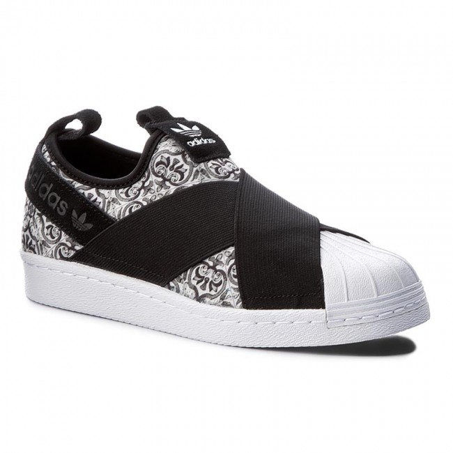 online store 80d10 2ae5d Shoes adidas - Superstar Slip On W BY9141 Cblack/Cblack/Ftwwht