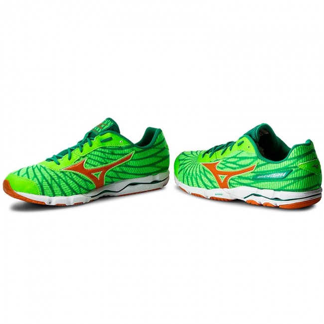 detailed look a9481 53952 Shoes MIZUNO - Wave Hitogami 4 J1GC178053 Green