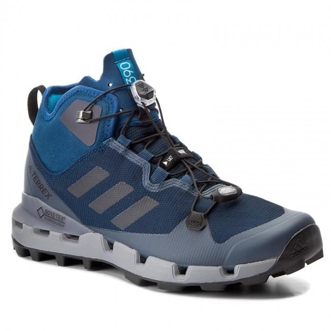 Shoes adidas Terrex Fast MId Gtx Surround GORE TEX S80878 BlunitCblackGrethr