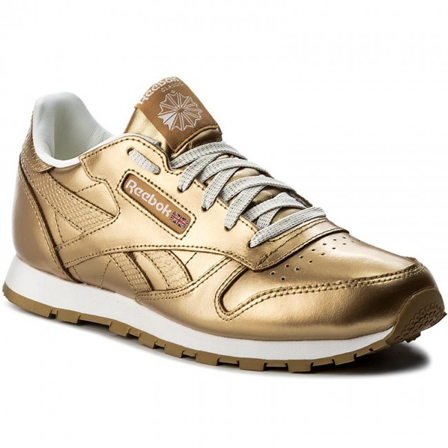 Shoes Reebok Classic Leather Metallic BS8944 BrassWhite