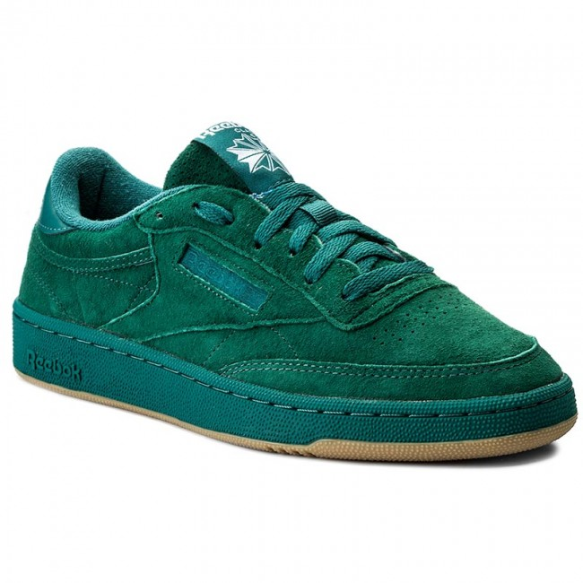 1500c82b8f0e Shoes Reebok - Club C 85 Sg BD6073 Washed Jade/White/Gum - Sneakers ...