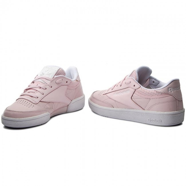 Shoes Reebok Club C 85 Fbt BS8134 PinkWhtSilverSkull