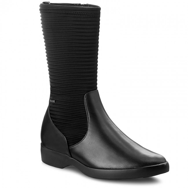 finest selection best value classic Knee High Boots HÖGL - GORE-TEX 4-102833 Black 0100 - Jackboots ...