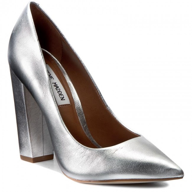 57ddf989d04 Shoes STEVE MADDEN - Primpy Pump 91000063-0W0-10001-14001 Silver