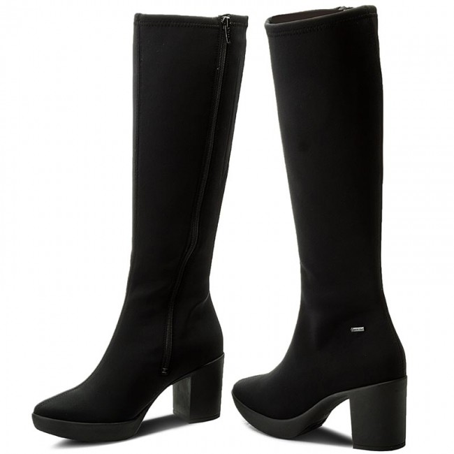 low priced 7230a c07c6 Knee High Boots HÖGL - GORE-TEX 4-106866 Black 0100