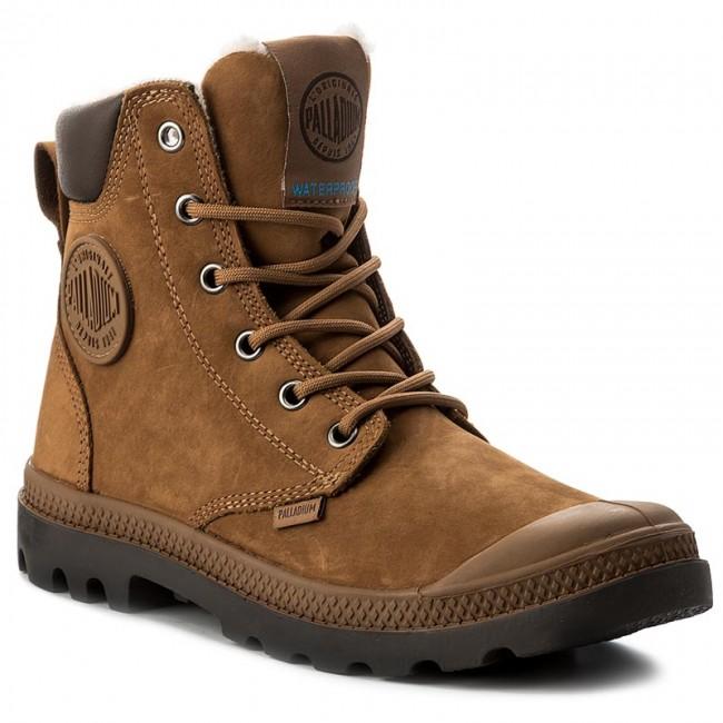 8b62814bcba Hiking Boots PALLADIUM - Pampa Sport Cuff WPS 72992-697-M Mahogany/Chocolate