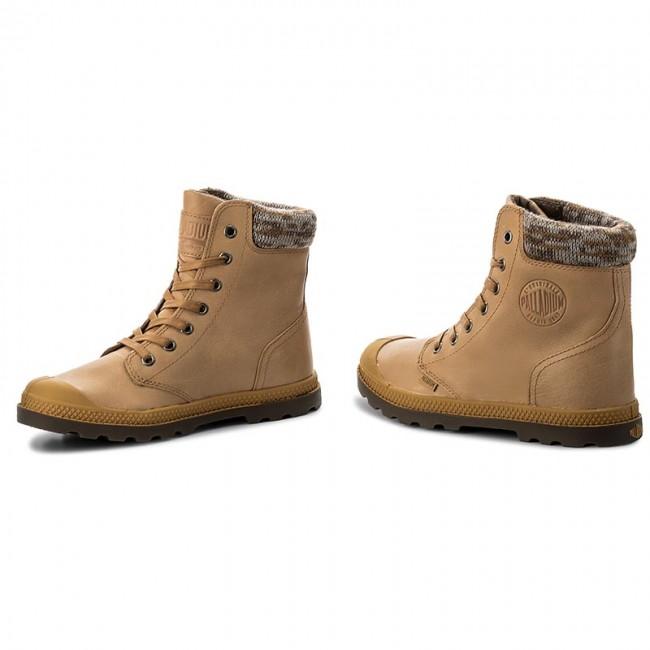 c79151b8aee Hiking Boots PALLADIUM - Pampa Hi Knit Lp 95172-720-M Amber Gold/Carafe