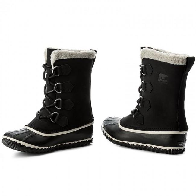 shopping sale great deals Snow Boots SOREL - Caribou Slim NL2649 Black 010 - Winter boots ...