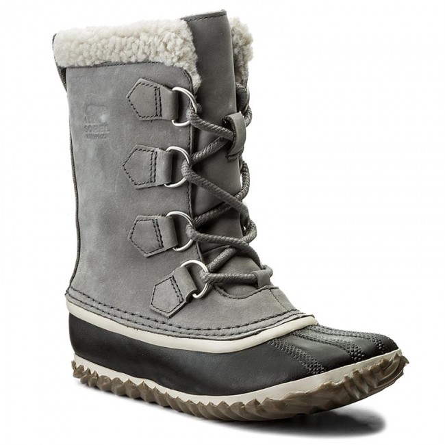 cute cheap new collection new release Snow Boots SOREL - Caribou Slim NL2649 Quarry 052 - Winter boots ...