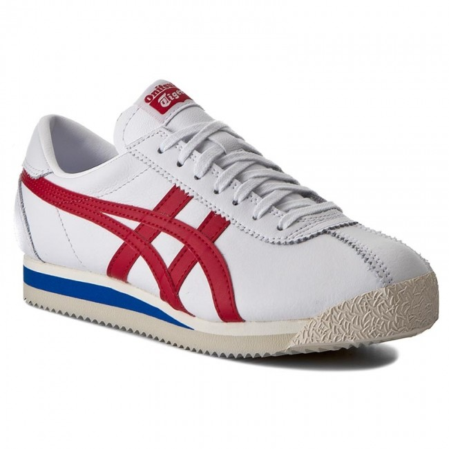 check out 17262 74359 Sneakers ASICS - ONITSUKA TIGER Corsair D713L White/True Red 0123