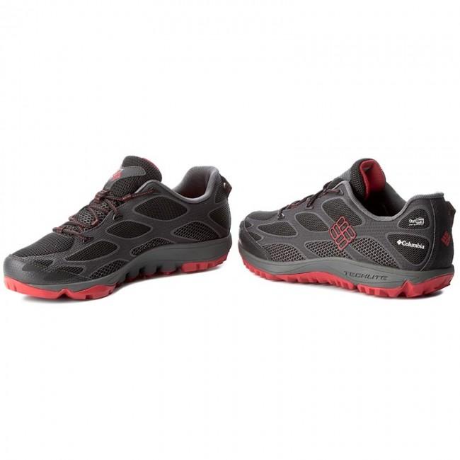 Trekker Boots COLUMBIA Conspiracy IV Outdry BM6004 BlackBright Red 011