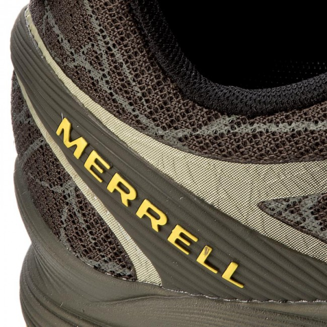Men/'s Merrell Agility Peak FL Beluga//Olive J09643 Medium Width