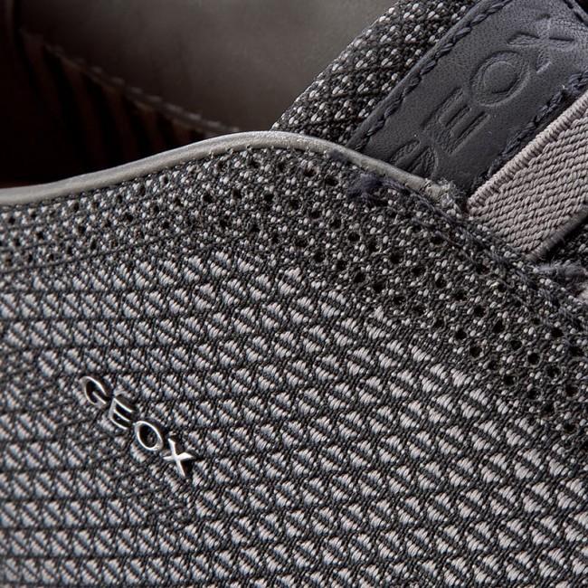 Shoes GEOX U Nebula B U64D7B 000ZI C0017 BlackGrey