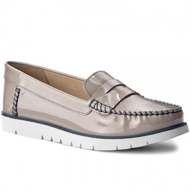rodear Contribuyente frijoles  Moccasins GEOX - D Kookean F D724PF 00066 C1010 Lt Grey - Moccasins - Low  shoes - Women's shoes | efootwear.eu