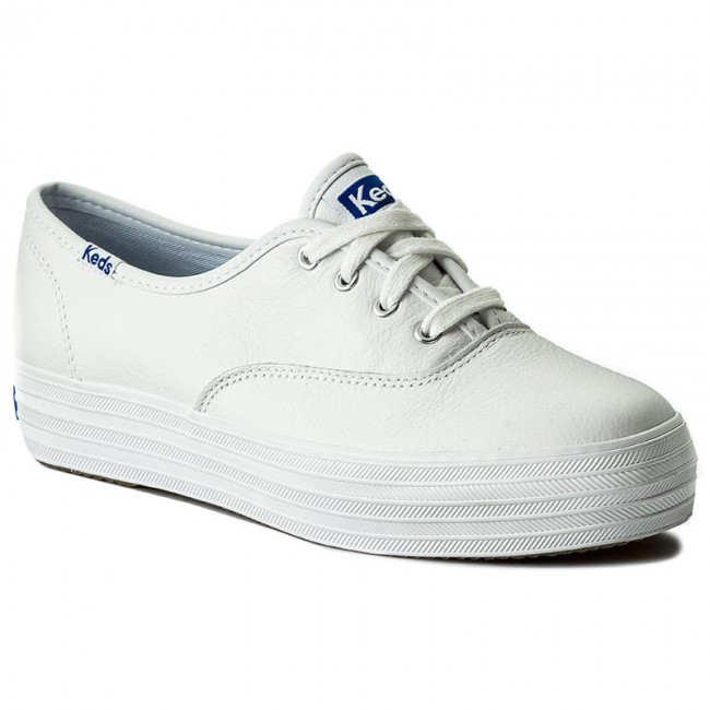 Plimsolls KEDS - Triple Leather WH55748 White