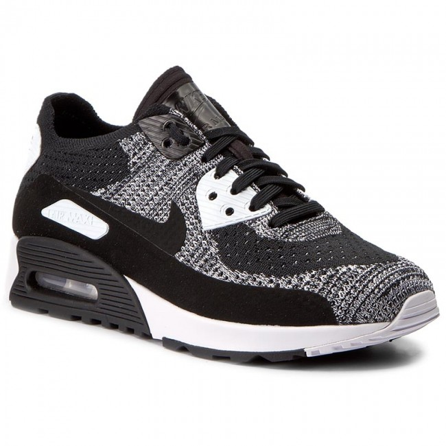Neu NIKE AIR MAX 90 Ultra 2.0 Flyknit Mens Shoes BlackWhite