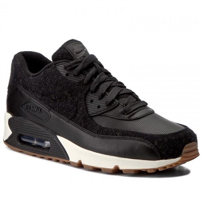 Shoes NIKE Air Max 90 Premium 700155 001 BlackBlackSail