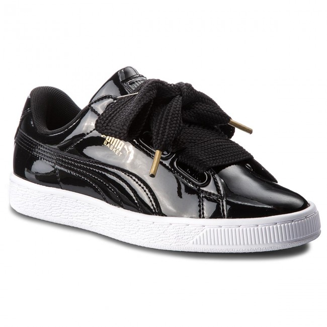 outlet store 5315b 12aed Sneakers PUMA - Basket Heart Patent 363073 01 Puma Black/Puma Black
