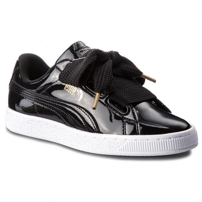 Sneakers PUMA Basket Heart Patent 363073 01 Puma Black