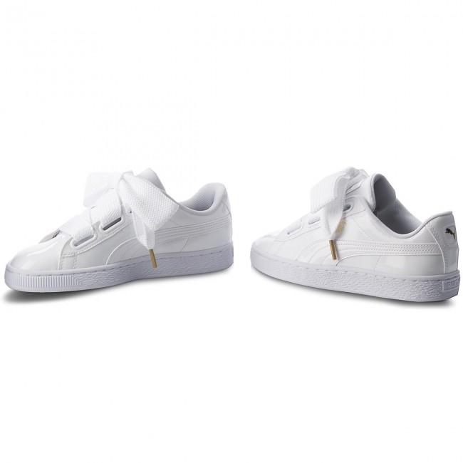 Sneakers PUMA Basket Heart Patent 363073 02 Puma WhitePuma White