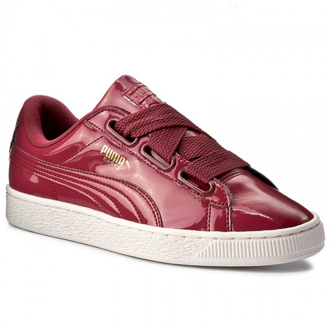 sneakers for cheap a38a2 375f0 Sneakers PUMA - Basket Heart Patent Wn's 363073 05 Tibetan Red/Tibetan Red