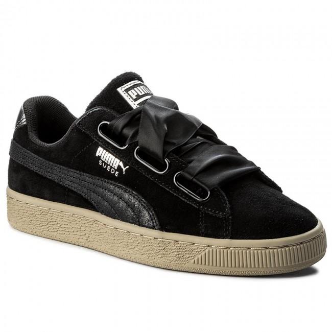 new arrival 30154 41f58 Sneakers PUMA - Suede Heart Safari Wn's 364083 03 Puma Black/Puma Black