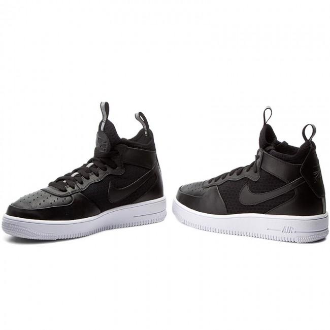 Force Air Blackblackwhite Nike 1 Shoes Ultraforce 864014 Mid 001 1FTlcKJ3