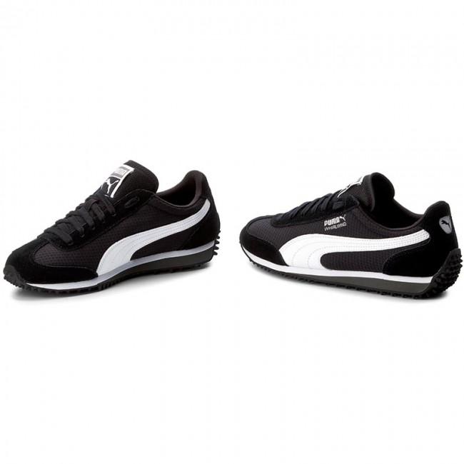 Sneakers PUMA Whirlwind 363787 01 BlackWhiteBlackSilver
