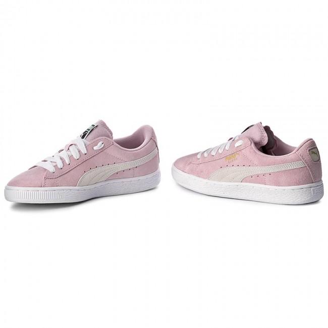 Sneakers PUMA Suede Jr 355110 30 Pink LadyWhiteTeam Gold