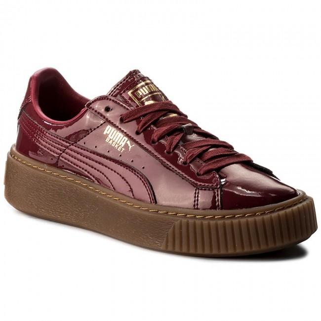 san francisco 4d67e f731b Sneakers PUMA - Basket Platform Patent Wn's 363314 04 Tibetan Red/Tibetan  Red