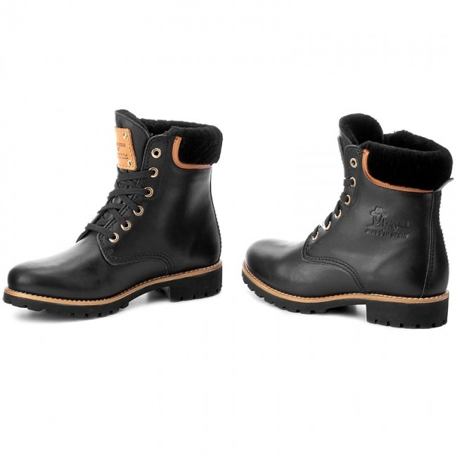 release date lace up in really cheap Hiking Boots PANAMA JACK - Panama 03 Igloo Travelling B2 Black ...
