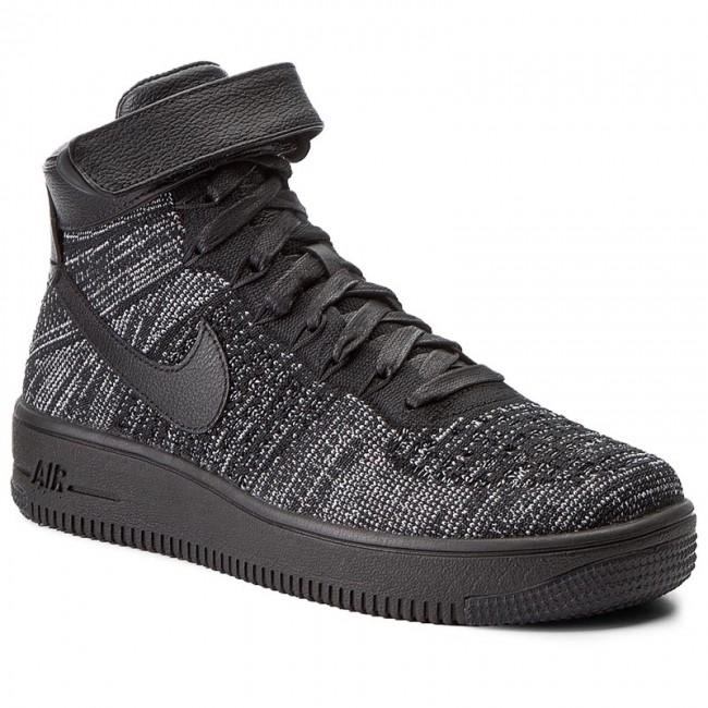 best sneakers 82808 cf24a Shoes NIKE - W Nike Af1 Flyknit 818018 002 Black/Black/White