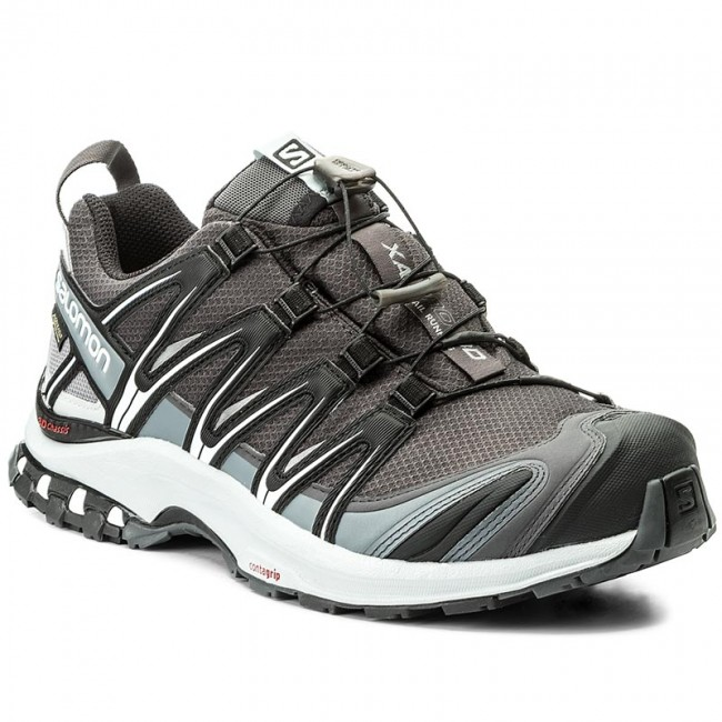 705148c7af3 Shoes SALOMON - Xa Pro 3D Gtx GORE-TEX 398527 27 V0 Magnet/Black/Pearl Blue  - Outdoor - Running shoes - Sports shoes - Men's shoes - efootwear.eu