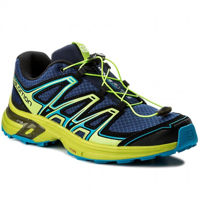 Shoes SALOMON Wings Flyte 2 399670 27 W0 Blue DepthsLime GreenHawaiian Surf