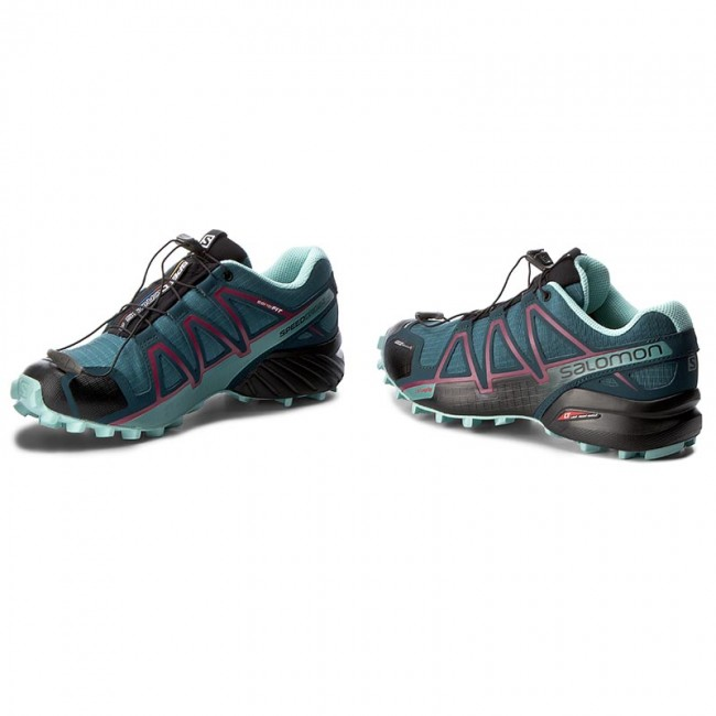 Shoes SALOMON Speedcross 4 Cs W 398433 22 V0 Mallard BlueReflecting PondEggshell